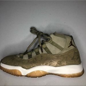 Women's Jordan 11 Retro Neutral Olive